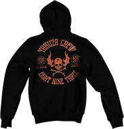Dresscode Shop Yakuza Hoody Flying Skull HOB7022